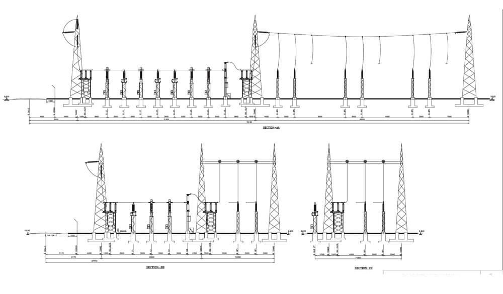 Diseño de Obra Civil para subestación.