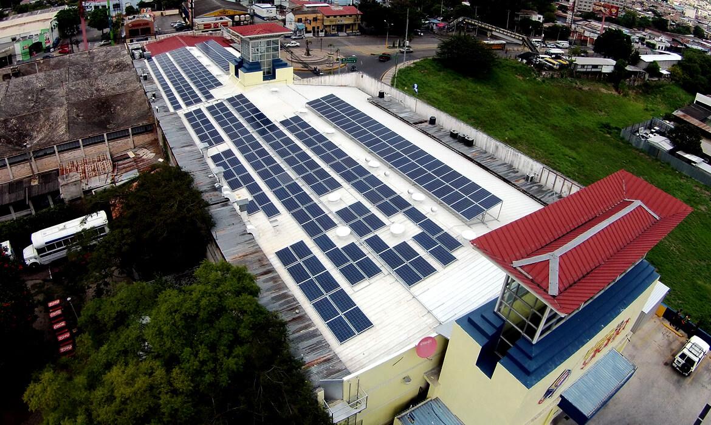 proyectos grupo proteger honduras division fotovoltaica sistema autoproductor de energia plaza la granja
