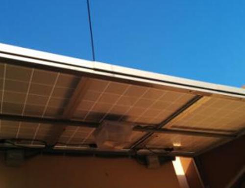 Sistema de autoproducción solar fotovoltaico oficinas PROTEGER