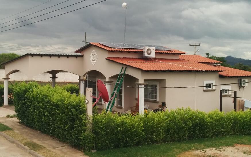 Sistema De Autoproducción Solar Fotovoltaico Residencia Mario Sánchez