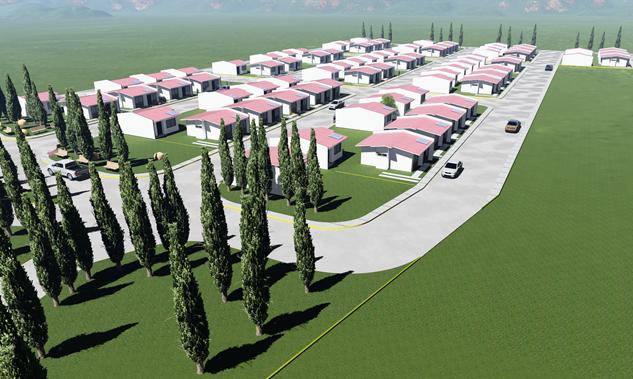 Diseño, modelado y renderizado de urbanizacion sanchez y sanchez grupo proteger.