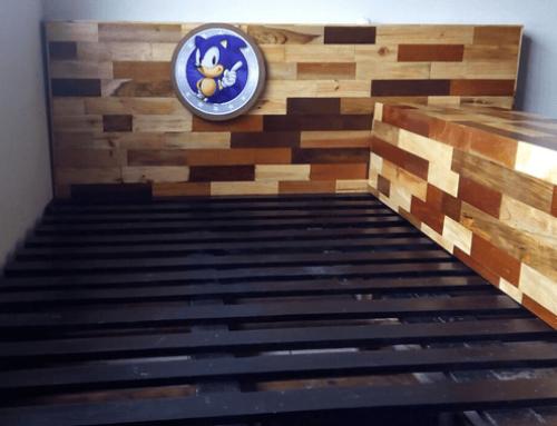 Fabricación e instalación de cama de madera