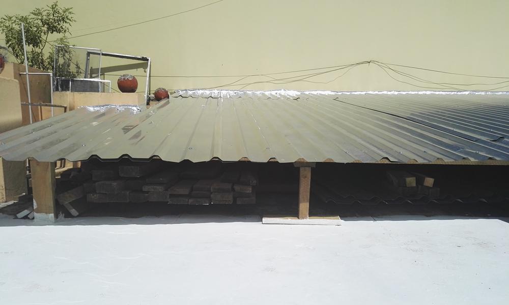 Construccción de galera metalica Grupo Proteger - 5