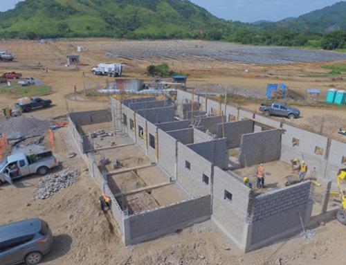 Construcción de tres edificios O&M SCATEC Solar Honduras