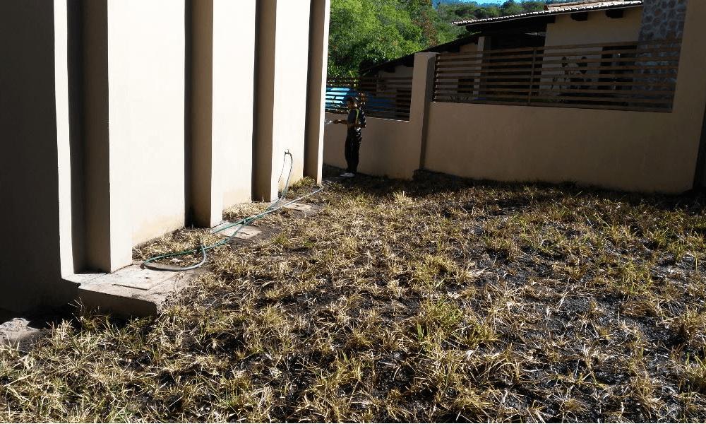 Engramado en residencia muro y gradas Grupo Proteger - 1