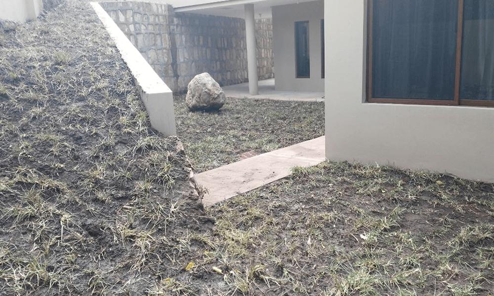 Engramado en residencia muro y gradas Grupo Proteger - 3