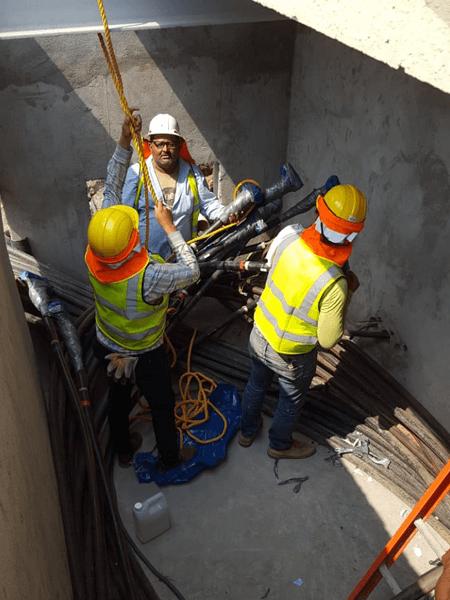 Movimiento Centro de Seccionamiento Parque Fotovoltaico Pacific Solar grupo proteger - 3